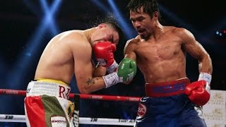 Boxing Manny Pacquiao Vs Chris Algieri Promo