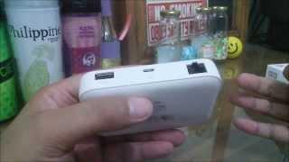 Huawei E5730 Mobile WiFi Review (Tagalog)
