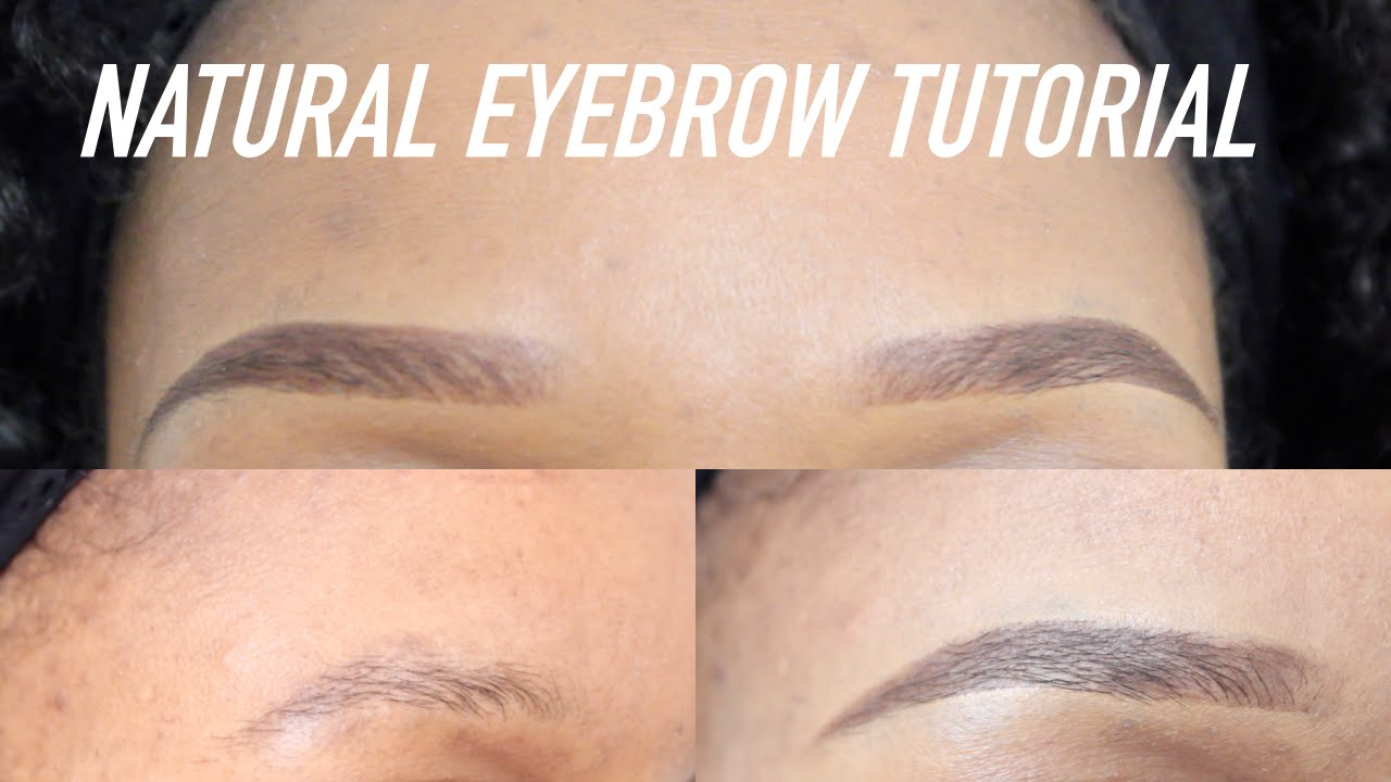 Quick & Easy Natural Looking Eyebrows Tutorial! Perfect With or Without Makeup ⎮ Pauline Walter - YouTube