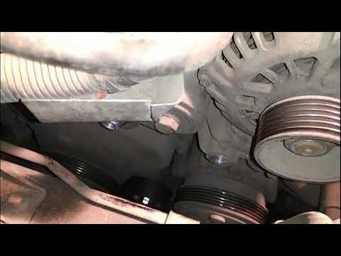 Chery M11 Замена ремня генератора .