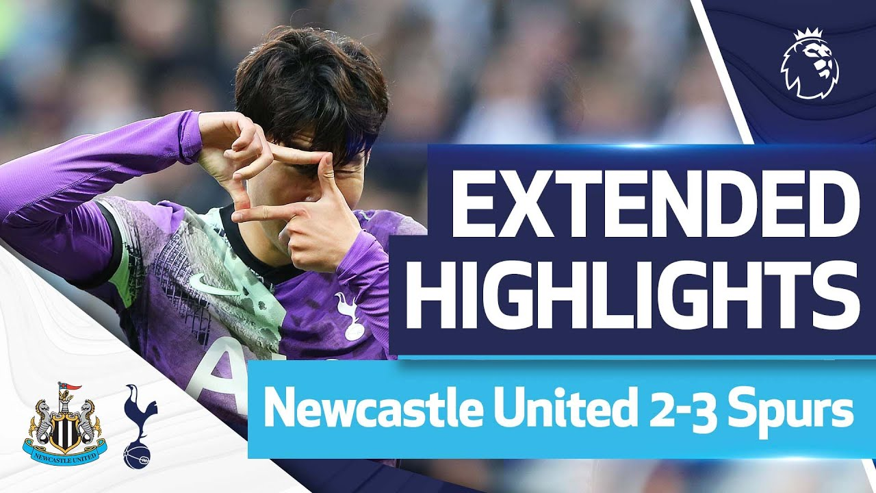 Extended Highlights | Newcastle United 2-3 Spurs | Ndombele, Kane & Son!