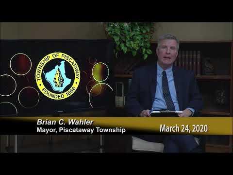 Covid 19 Piscataway Address 3 24 2020
