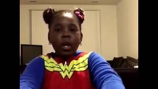 Zyah 6 year old sensation Rose In Harlem Freestyle Teyana Taylor K.T.S.E