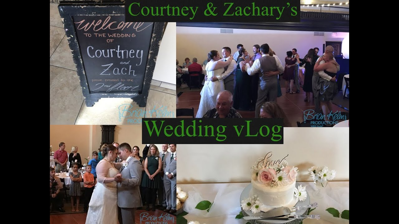 Courtney Zachary S Wedding Vlog The Venue Janesville Wi Brian Kelm Productions