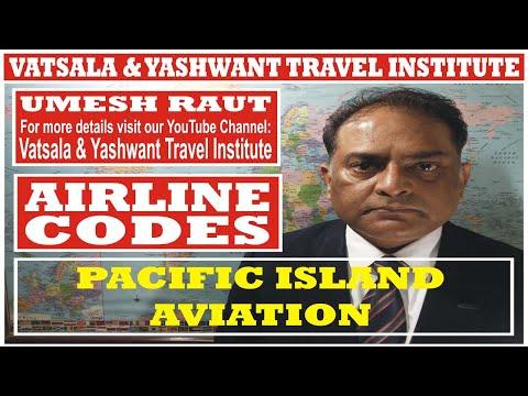 PACIFIC ISLAND AVIATION | AIRLINES CODES | VATSALA & YASHWANT TRAVEL INSTITUTE