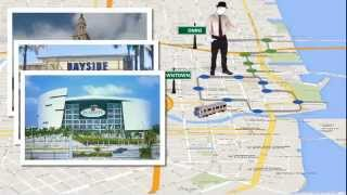 El Metromover de Miami. Showmiami.us