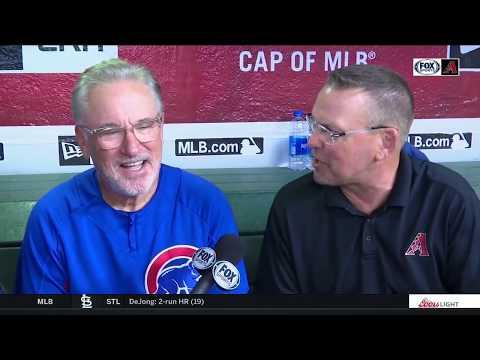 Joe Maddon explains Occam's razor to Mark Grace