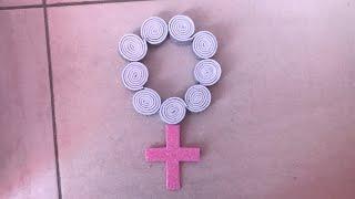 Como hacer un rosario de goma eva
