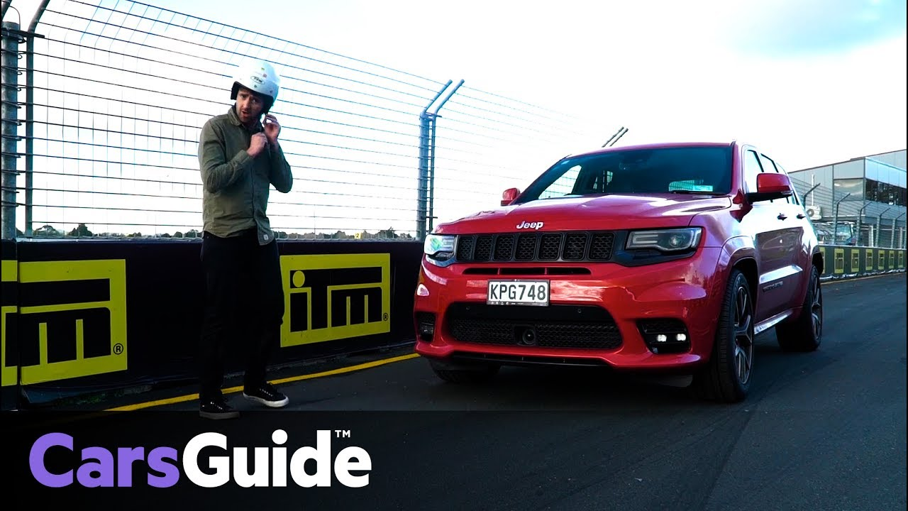 Jeep Grand Cherokee SRT 2017 Review: Track Test
