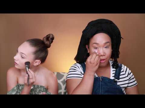 Makeup with PatrickStarrr!!!!  Maddie Ziegler