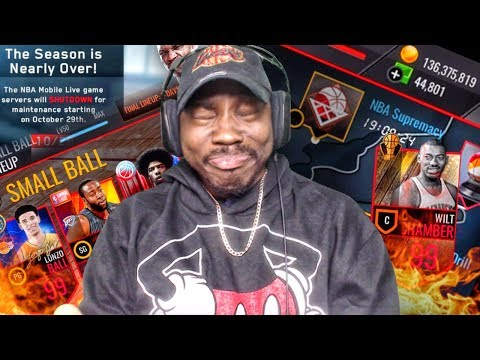SHOPPING SPREE & FINAL LINEUPS IN SEASON 1 FINALE! NBA Live Mobile Gameplay Pack Opening Ep. 170