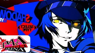 P4A Ultimax: Shadow Naoto 64 Hit Combo Ps3 60fps → SOCIAL MEDIA↓ Tw...