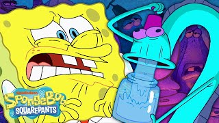SpongeBob Joins the Empty Head Society  | The Nitwitting | SpongeBob