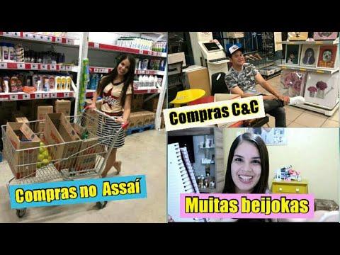 COMPRAS DO MÊS NO ASSAÍ | C&C | BEIJOKAS PRAS BONITAS