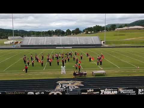 2018 DeKalb County Exhibition: Fyffe High School Red Devil Marching Band