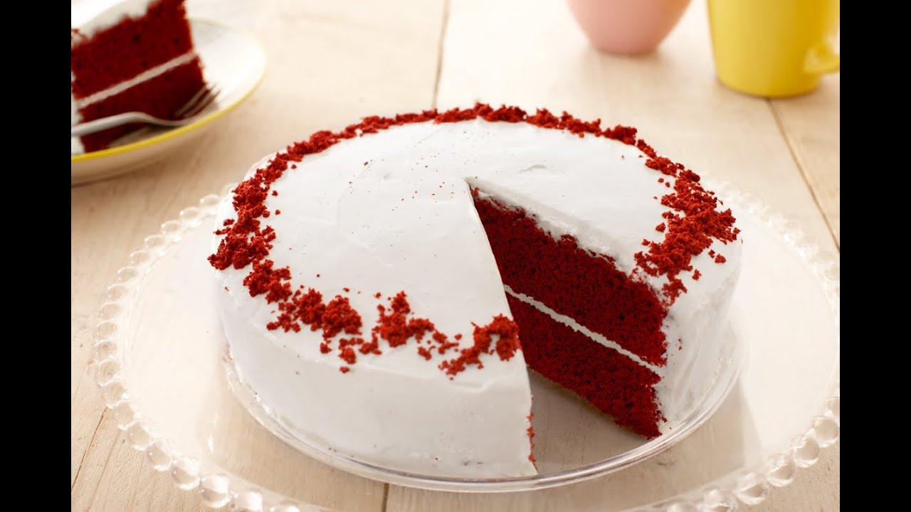 Genoeg Red Velvet Cake bakken met Dr. Oetker - YouTube &NP98