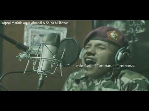 Ya Asyiqol Musthofa - Cover Kopral Marinir Agus Ahmadi & Istrinya