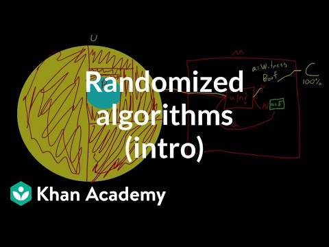 Randomized algorithms (intro) | Journey into cryptography | Computer Science | Khan Academy
