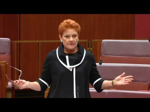 PAULINE HANSON   The major parties have destroyed Australia