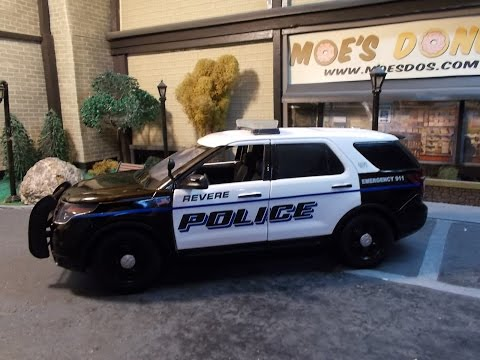 Revere MA Police 1/18 scale Ford Explorer
