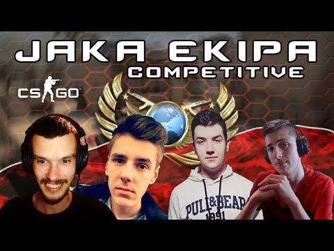 Jaka smo mi ekipa - CS GO Competitive #12 w/GameInstruktor, Dzoni, Deni, Cofi