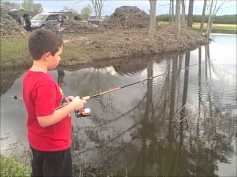 Cub Scouts Pack 48 Fishing At Greenbrier Farms Nursery