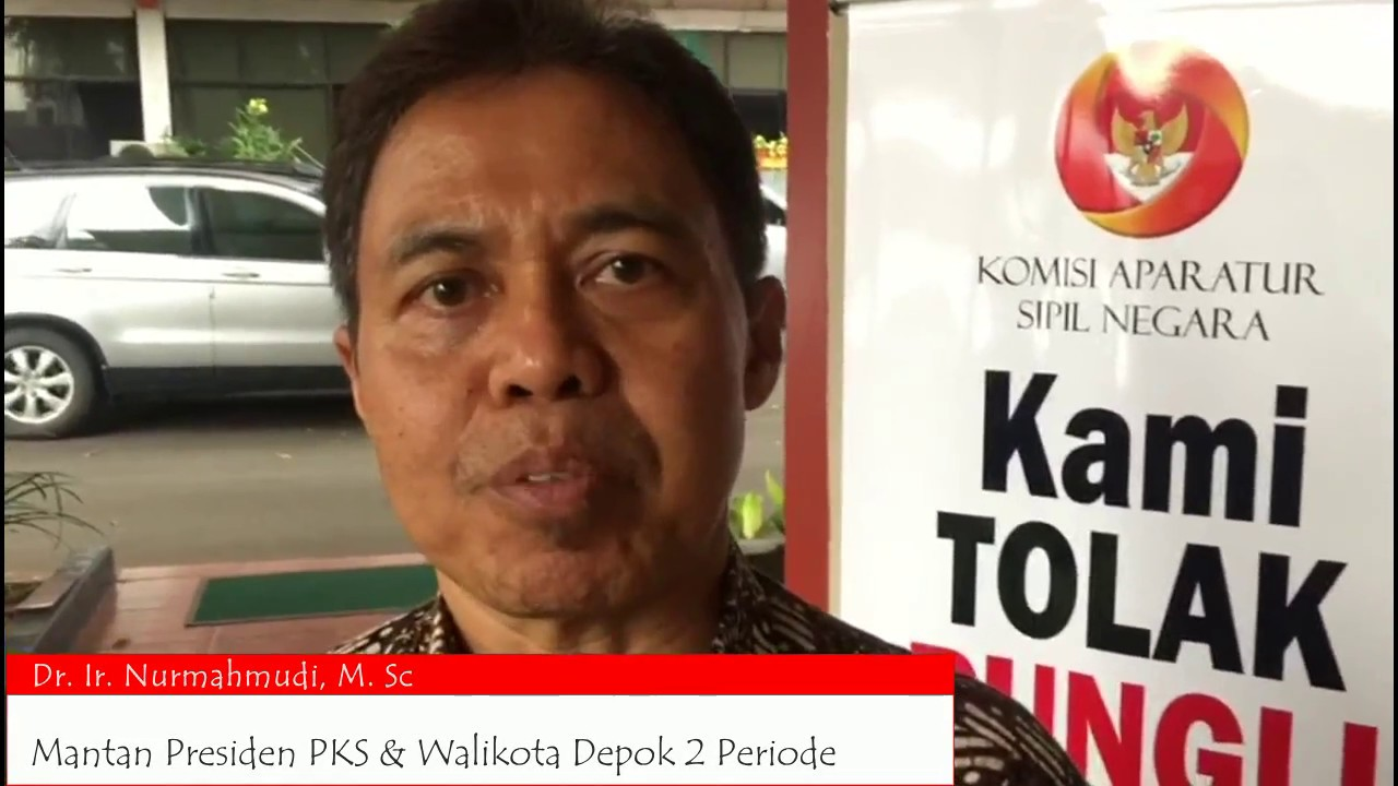 Pendapat Mantan Presiden PKS dan Walikota Depok Nur Mahmudi Ismail tentang KASN dan Revisi UU ASN