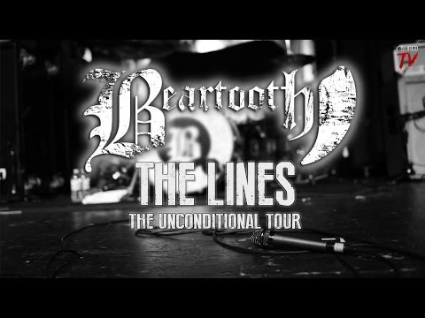 """Beartooth - """"The Lines"""" LIVE! *NEW SONG* The Unconditional Tour"""