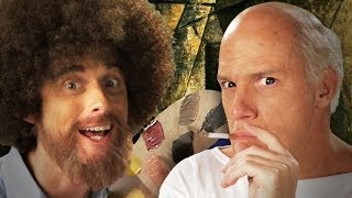 Bob Ross vs Pablo Picasso. Epic Rap Battles of History