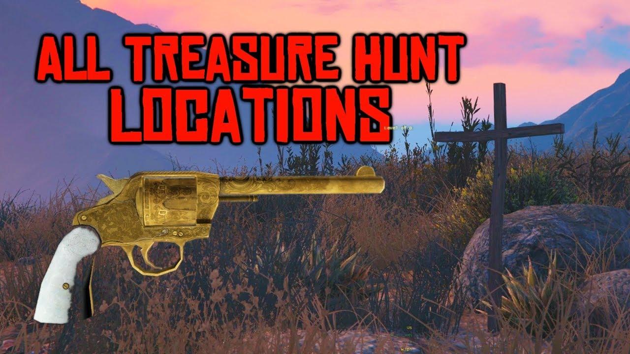Online Treasure Hunts