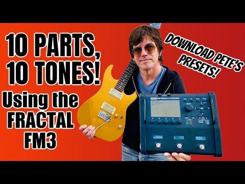 10 PARTS, 10 TONES using the FRACTAL FM3! FREE PRESETS!