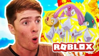 NEW LEGENDARY TRIO! / Pokemon Legends / Roblox Adventures