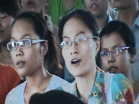 Chao Chua Thanh Linh va Lua Thieng Chay Len