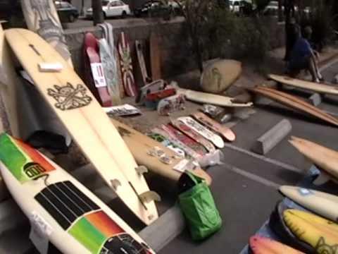 A Flea Market In Venice, California