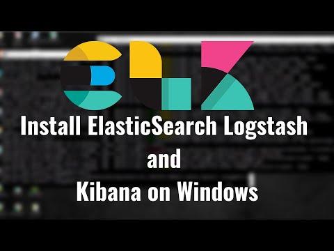 Install ELK 7 (ElasticSearch Logstash and Kibana ) on Windows 10