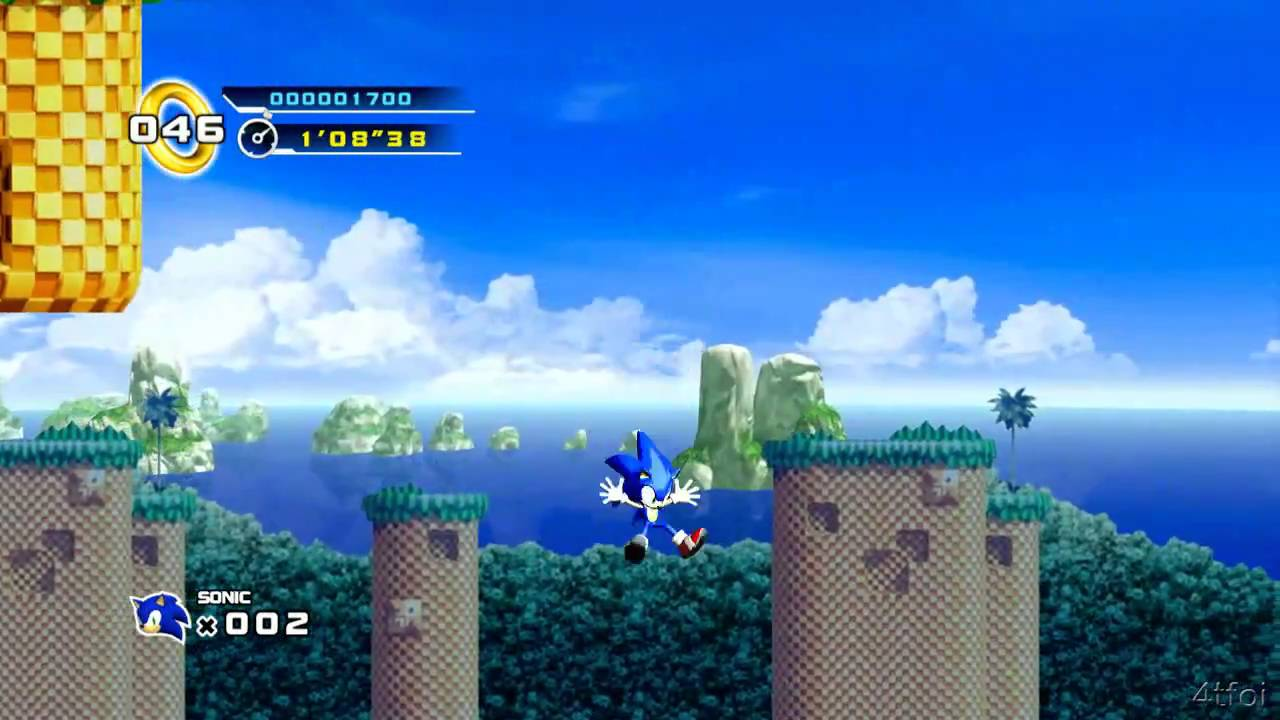 Sonic The Hedgehog 4 Episode 1 Xbox 360 Trial Youtube