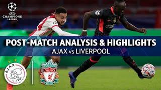 Ajax  vs Liverpool: Post Match Analysis & Highlights   UCL on CBS Sports