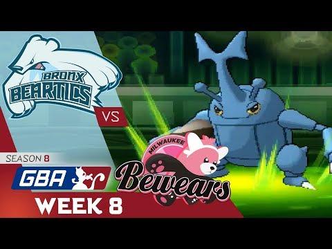 """BATTLE OF THE BEARS"" Bronx Beartics vs Milwaukee Bewears! GBA S8 W8! Ultra Sun & Moon Wifi Battle"
