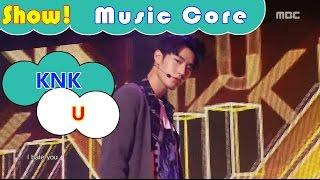comeback stage knk u 크나큰 유 show music core 20161119