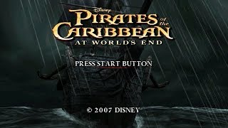 Pirates of the Caribbean: At World's End PSP Playthrough - Hack & Slash With Johnny Depp