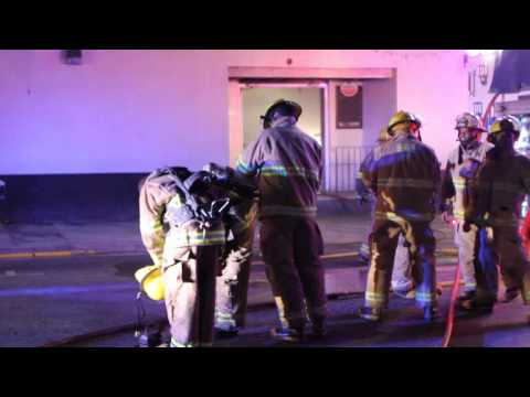 Fire Hits Hamilton Nightclub Bermuda November 7 2011