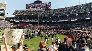 Oakland Raiders 2019 vs Detroit Lions 11/3/19
