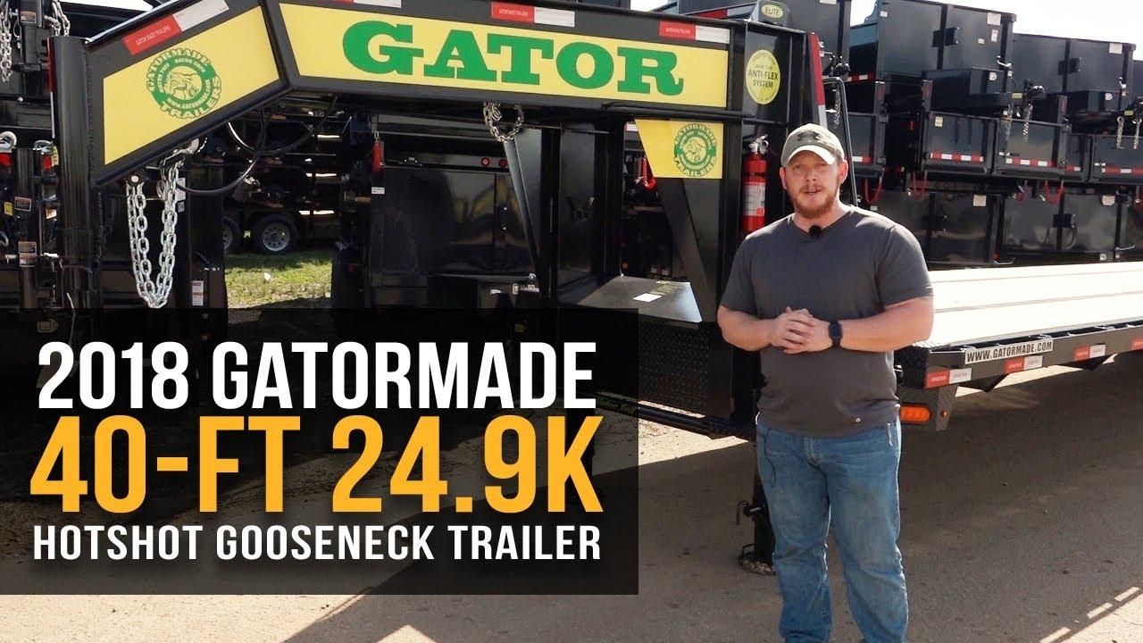 Gooseneck Flatbed Trailers Sale