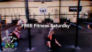 FREE Fitness Saturday 9am // No Memebership Needed!