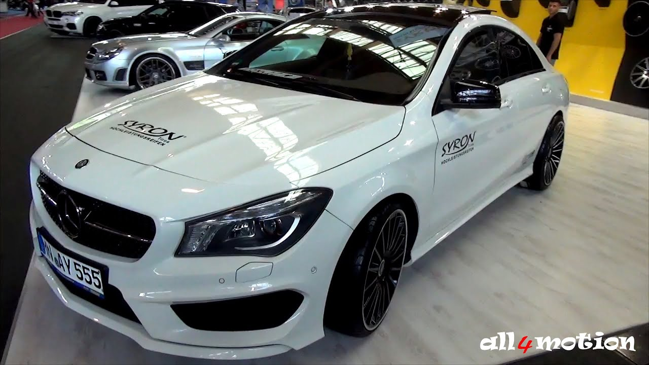 Mercedes Cla 250 White Syron Tires Youtube
