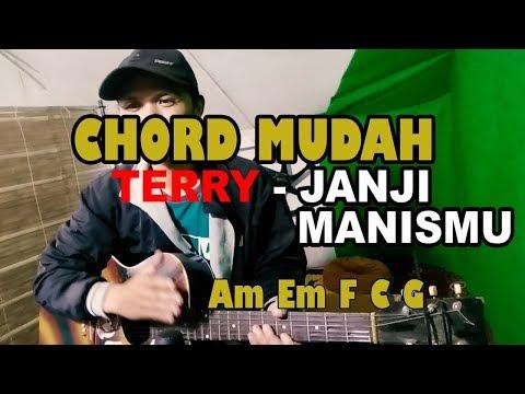 Chord Mudah (Terry - Janji Manismu) - Belajar Kunci Gitar By Rudi Gawa