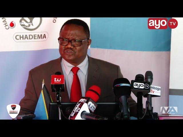Utaratibu unafanywa wa kumpeleka Edward Lowassa Mahakamani - LISSU