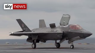 Royal Navy and RAF locked in dogfight over new jets