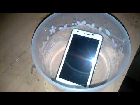 Haier Mobile Water Resistant Test