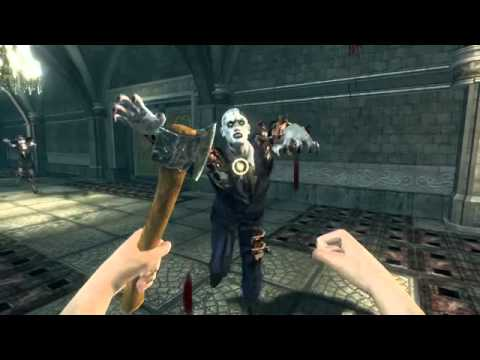 rise of nightmares kinect how to run